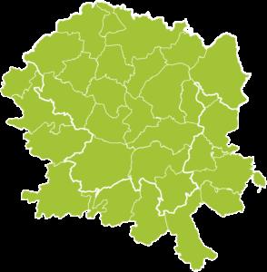 Karte Vogelsberg